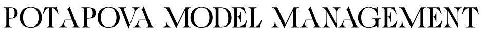 POTAPOVA MODEL MANAGEMENT